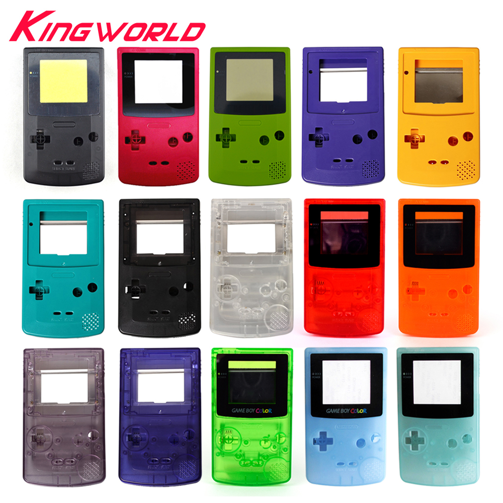 10sets High quality Housing Shell For G ameBoy Color For G BC Housing Case Pack
