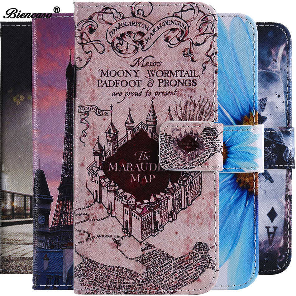 Cobrir Para Samsung A40 Caso PU LEATHER Flip Wallet Caso Titular Do Cartão Para Samsung Galaxy A70 S10 Plus S9 S8 j3 2018 J4 J6 J7 Coque