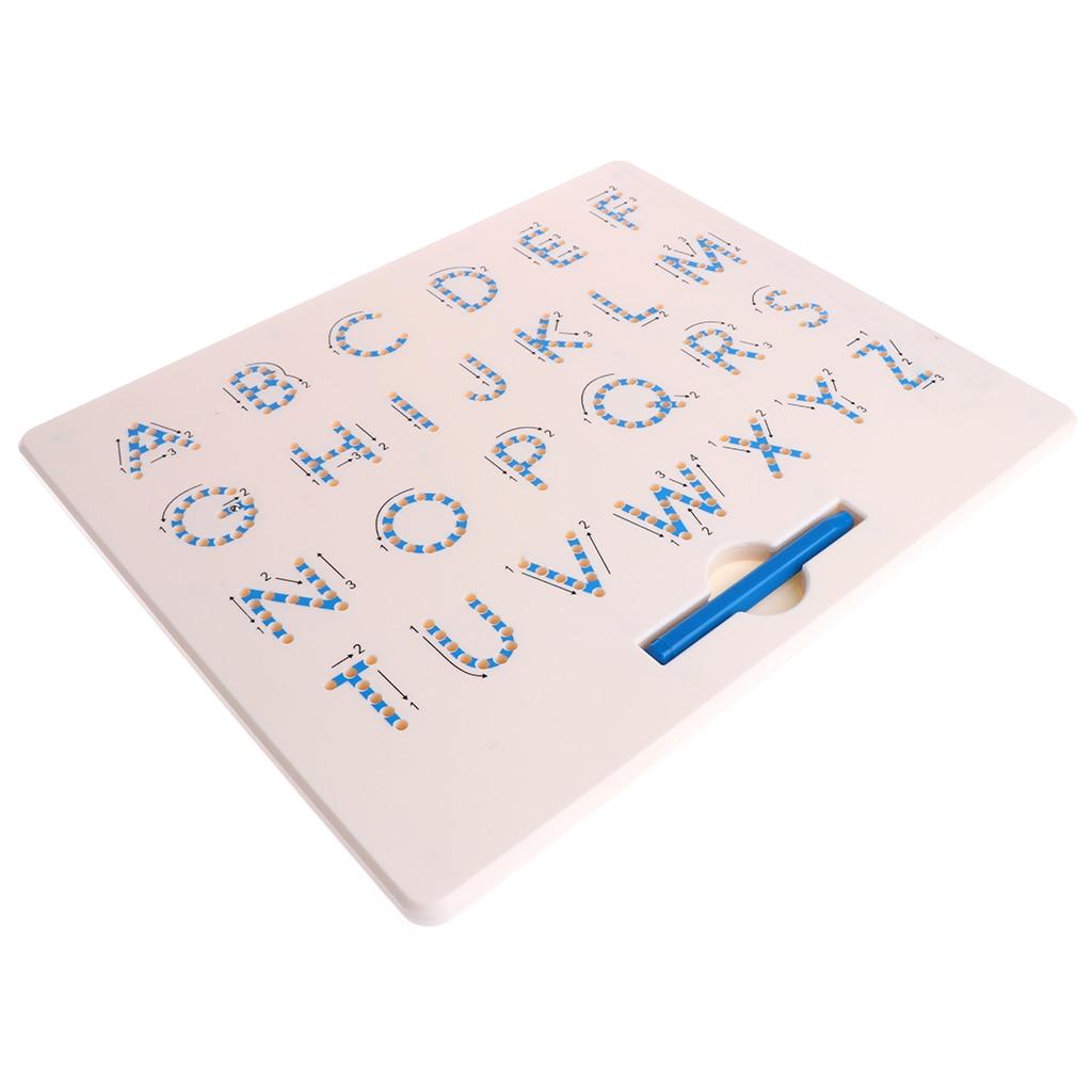 Tablero de dibujo magnética para niños bebé niño niños Doodle dibujo Pad Tablet juguetes alfabeto número educativo escrito regalo