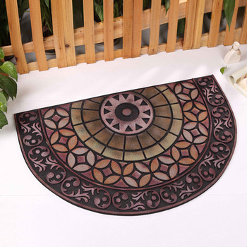 Luxury Europe Doormat Natural Rubber Size 90x60CM Hallway Parlor Rug Bathroom Mats Outdoor Welcome Carpets Home Decorate  tapete
