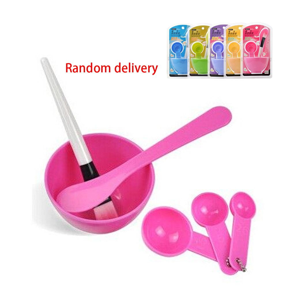 Practical DIY Facial Mask Tool Set Face Mask Mixing Set Care Tool Sets Random Color