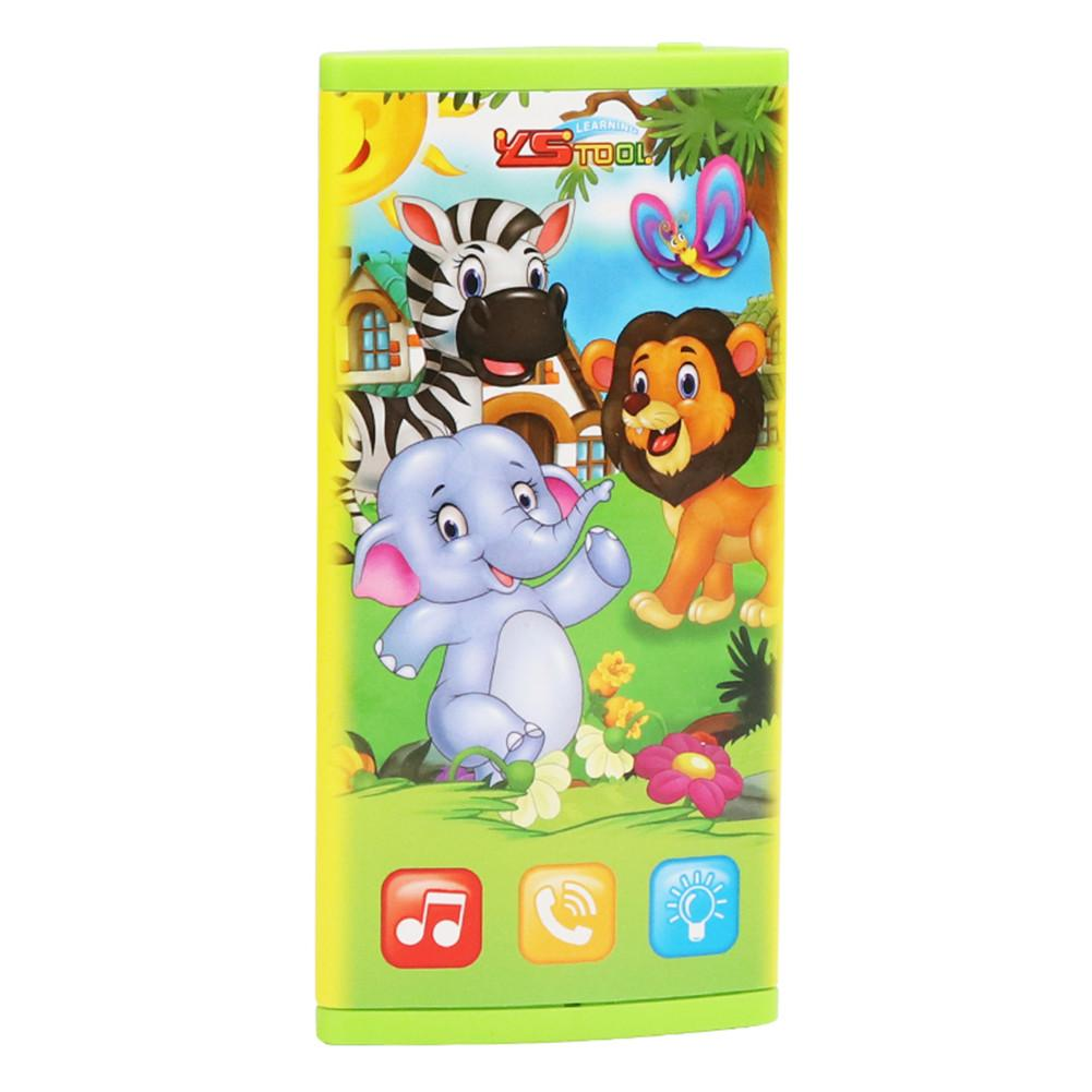 Children's Early Education Sounding Music Double-sided Screen Multi-functional Mobile Phone Electric Toy Puzzle Sounding Toy