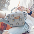 Retro Quilted Bag Ladies Handbag 2017 New Japan Cute Style Shoulder Bags Women's Handbags Flowers Packet Tote Bag Bolsa Feminina