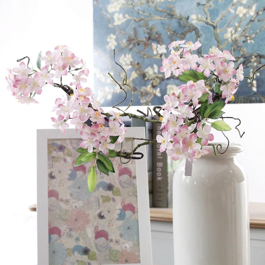 Künstliche Und Getrocknete Blumen Festliche & Party Supplies 1 Stück Künstliche Kirschblüten Kurze äste Sakura Kirsche Diy Hochzeitsbogen Dekoration Gefälschte Blumen Party Decor Kranz Kunden Zuerst