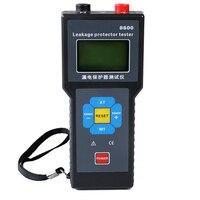 ETCR8600 0.00mA 500mA цифровой измеритель тока утечки с утечки измерительный прибор для защиты от протекания