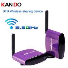 650 5.8G 300m Wireless STB AV Sender TV Audio Video Transmitter&Receiver for IPTV DVD video transmission audio video adapter