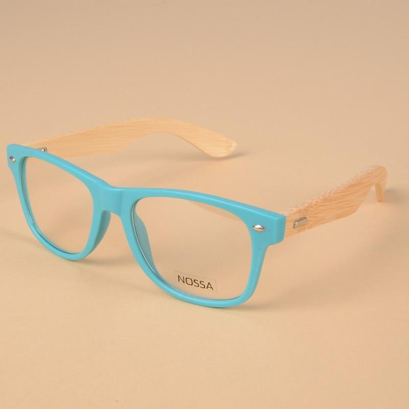 Japón Marcos de gafas de bambú hechos a mano Personalidad Mujeres Hombres Gafas de madera Hombre Mujer Gafas vintage Marco de miopía óptica