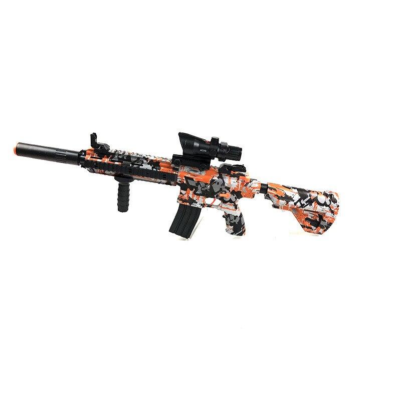 Zhenduo jouet M416 main de jouet lectric pistolet à eau Gel balle pour enfants passe-temps en plein air - 5
