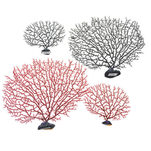 Ocean Series Simulation of Coral Branches Sea Iron Tree Willow Shells Seabed Scenery