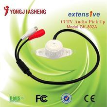 Audio Microphone Sound pickup remote monitoring CCTV audio monitorYJS