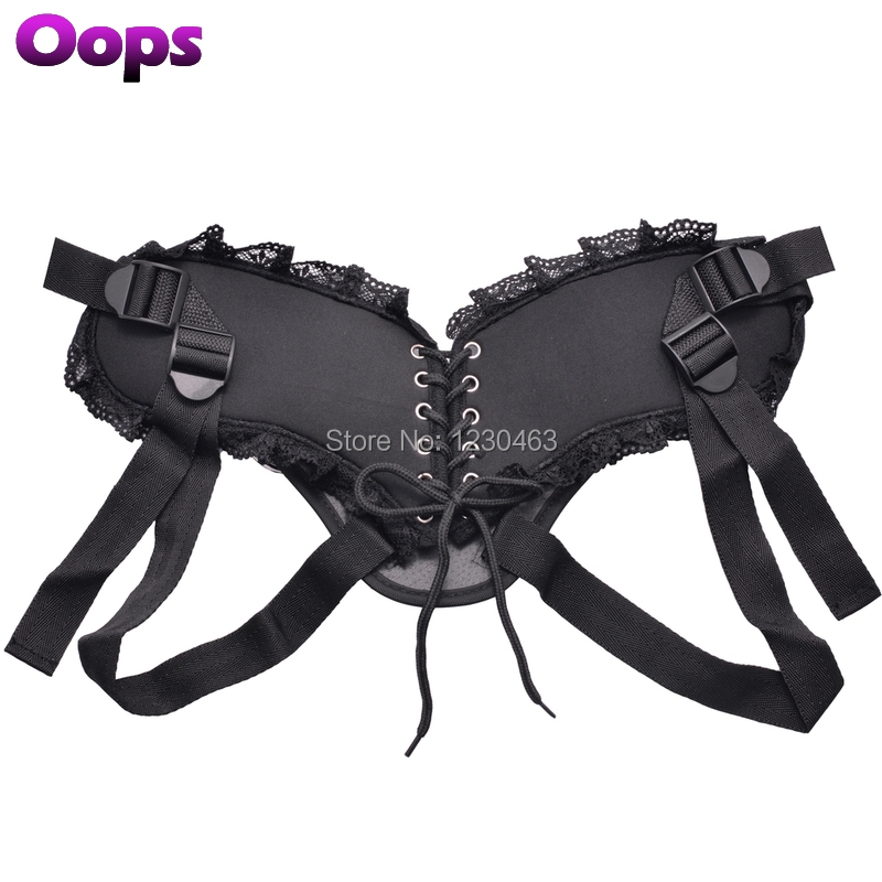 Strap On Harness Strapon Realistic Dildo Toys with Metal Rings for Lesbian Adult Women's Dildos Sex Toys