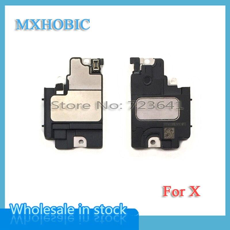 Buzzer Loudspeaker iPhone X Ribbon-Replacement Flex-Cable XS for Max-Xr Ringer 5pcs/Lot