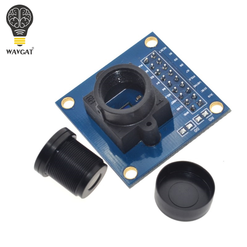 Image 2 - WAVGAT OV7670 camera module OV7670 moduleSupports VGA CIF auto exposure control display active size 640X480 For Arduino-in Integrated Circuits from Electronic Components & Supplies