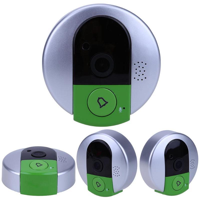 HD 720 p Drahtlose WiFi Sicherheit IP Tür Kamera Nachtsicht Zwei wege Audio Weitwinkel Video Doorcam Guckloch E5M1-in Türklingeln aus Heimwerkerbedarf bei AliExpress - 11.11_Doppel-11Tag der Singles 1