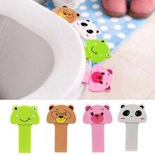 2 шт. Potty Ring Handle домашний продукт аксессуары для ванной комнаты Набор портативный удобный для унитаза крышка устройства является указанием туалетный набор