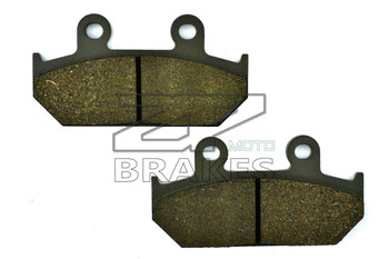 New Brake Pads Organic For Front HONDA NX 500 1988-1996, CB 125 TT 1990 CD 250 UJ 1988-1992 Motorcycle BRAKING Free Shipping image