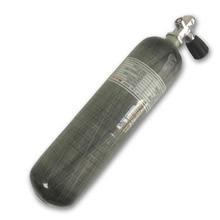 AC10351 Acecare 3L CE PCP cylindre en Fiber de carbone pour la chasse Airsoft Airforce Condor Air fusil Paintball réservoir avec Valve de plongée