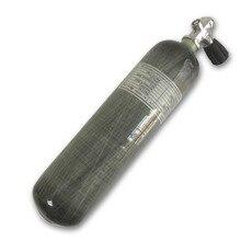 Цилиндр AC10351 Acecare 3L CE PCP из углеродного волокна для охоты, страйкбола, ВВС, кондора, пневматической винтовки, пейнтбола, бак с клапаном для дайвинга