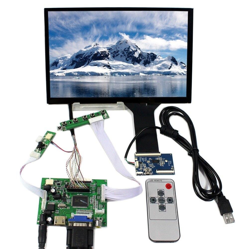 HDMI VGA 2AV LCD Controller Board With 10.1inch 1920x1200 B101UAN02.1 AHAV LCD Screen hdmi vga 2av reversing lcd controller driver board with 6 2inch 800x480 hsd062idw1 lcd panel