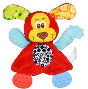 Image 4 - 赤ちゃんかわいいガラガラのおもちゃ漫画の動物の手の鐘ガラガラのおもちゃ遊びぬいぐるみおしゃぶりおもちゃ 20% オフ