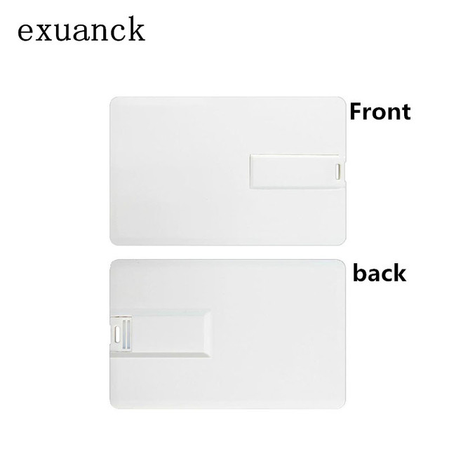 Exuanck Custom Logo Print Photography Credit Card Usb 20 Stick