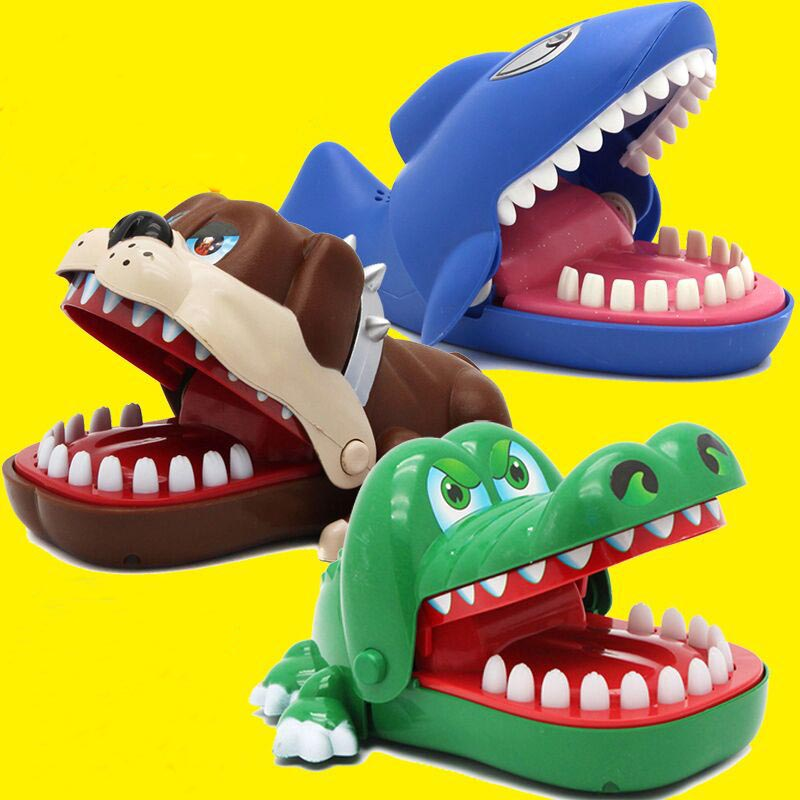 Children's novel oversized crocodile bite finger big mouth tricky toy shark whole funny toy Christmas gift of chil for Kids Gift