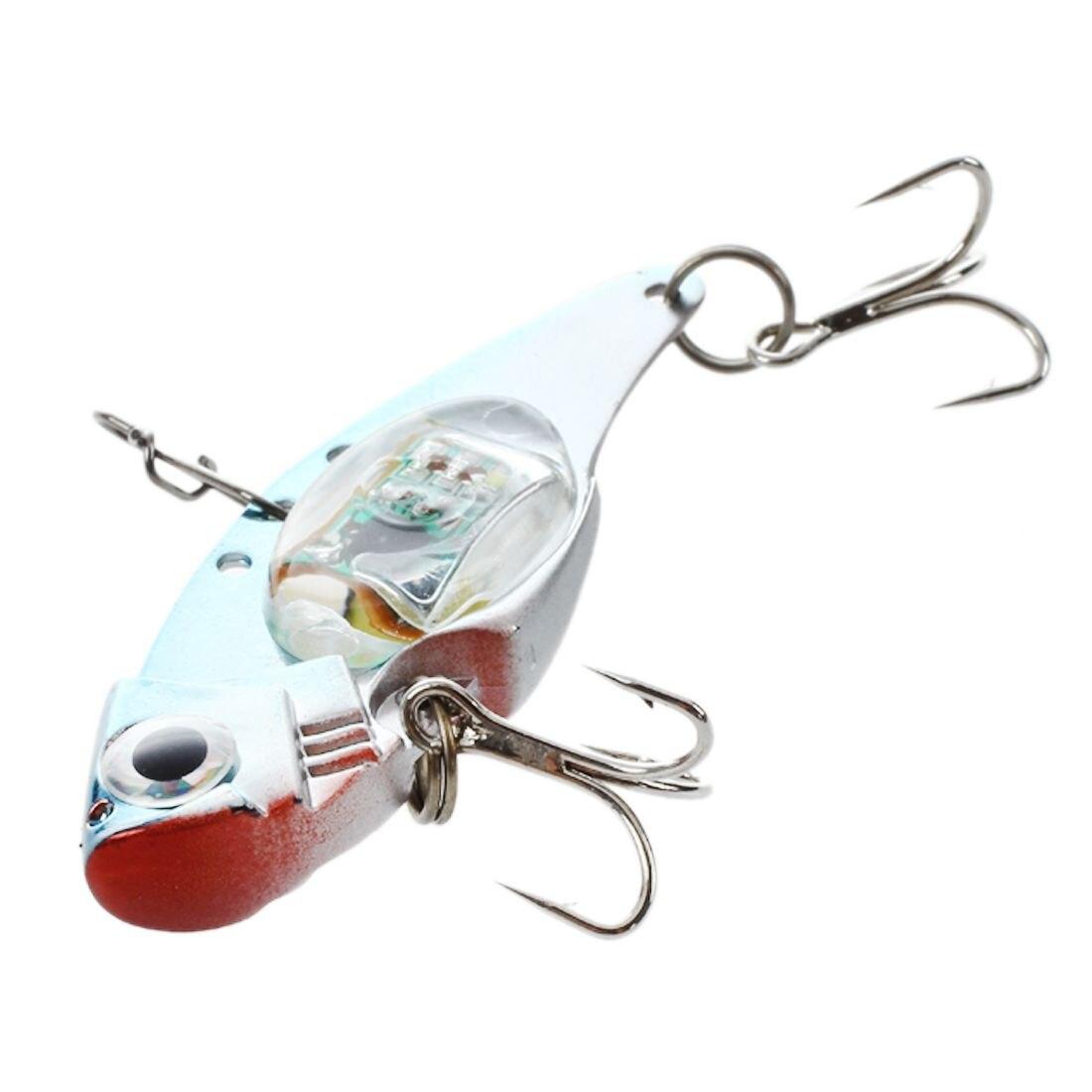 LED Baits Smart Flasher Sea Bait Blinker Predator Light Lamp Blue