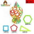 LittLove 68 PCs Mini Size  World Cup Enlighten Educational Magnetic Building Blocks Bricks Toys for kids for Children