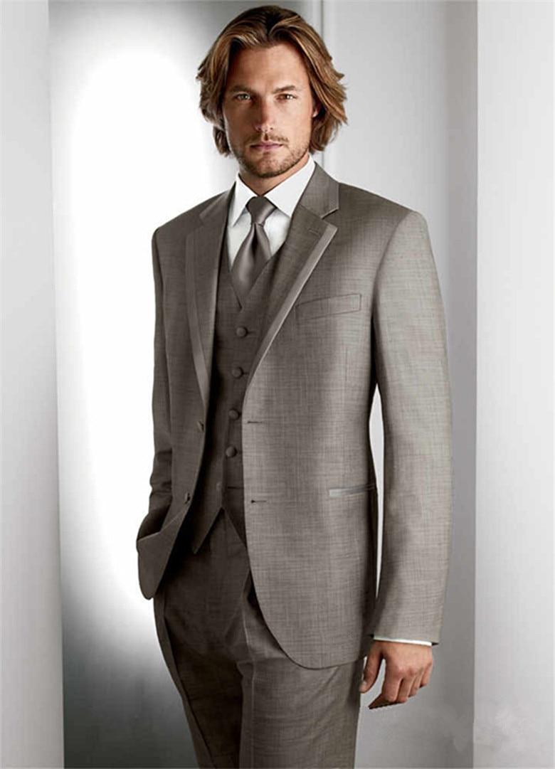 2018 Latest Coat Pant Designs Mens Wedding Suits Navy Blue Groom Tuxedos Groomsmen Suit 3 Piece Best Men Suit Costume Homme