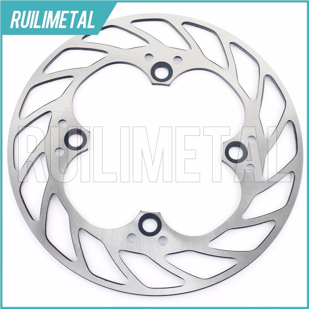 1 Rear Brake Disc Rotor for Honda HORNET 250 CB400 CB600F CRF600F CBR600RR CBR900RR CBR1000RR VTR1000 SP1 SP2 00 01 02 03 04 rear brake disc rotor for honda cbr 600 rr cbr900rr cbr 1000 rr cbr 400 rr 1998