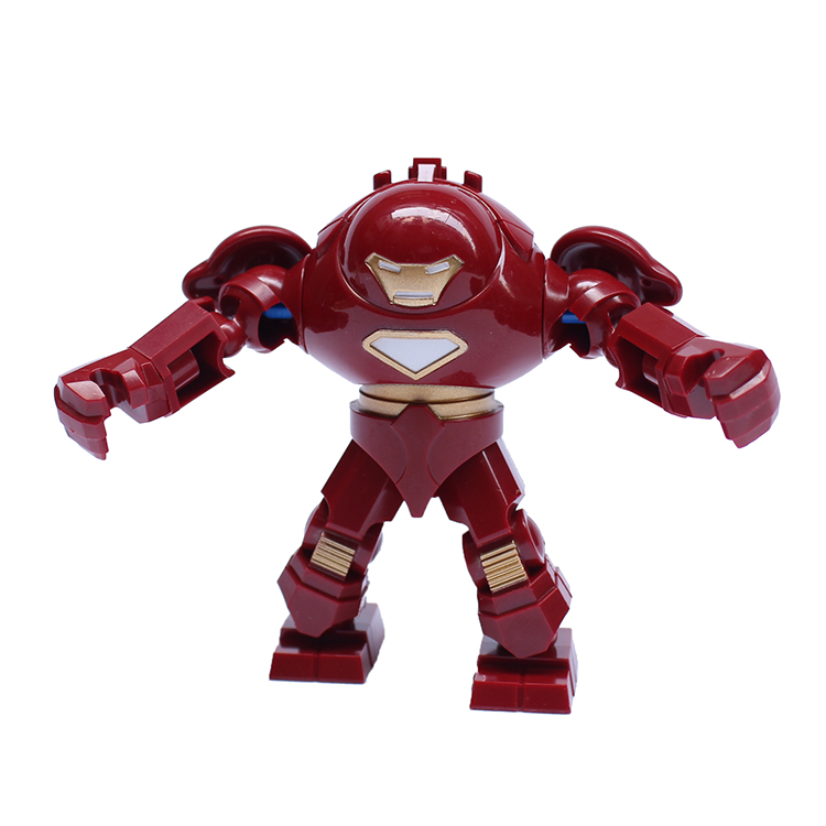 7cm Iron Man Hulk Buster Action 0181 Block Figure Building