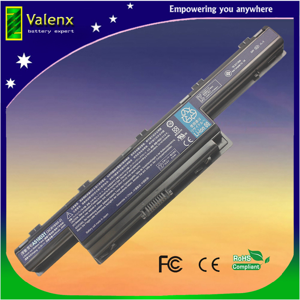 bateria do laptopa Acer Aspire 4741 5551 5552 5551G 5560 5560G 5733 5733Z 5741G 5741 AS10D31 AS10D51 AS10D61 AS10D71 AS10D75