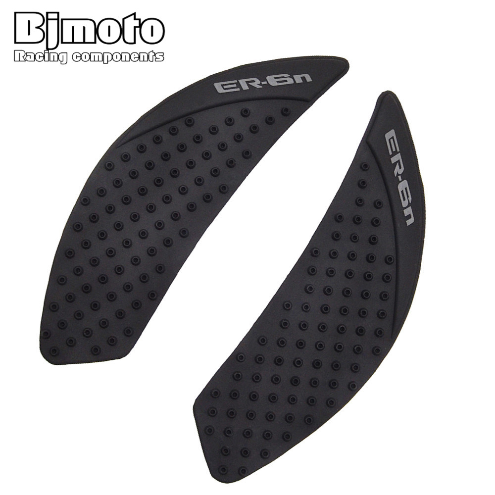 Bjmoto Er 6n Motorcycle Anti Slip Tank Pad Sticker Gas Knee Grip Traction Side 3m Decal For Kawasaki Er6n 2009-2015 Reasonable Price Automobiles & Motorcycles Motorcycle Accessories & Parts