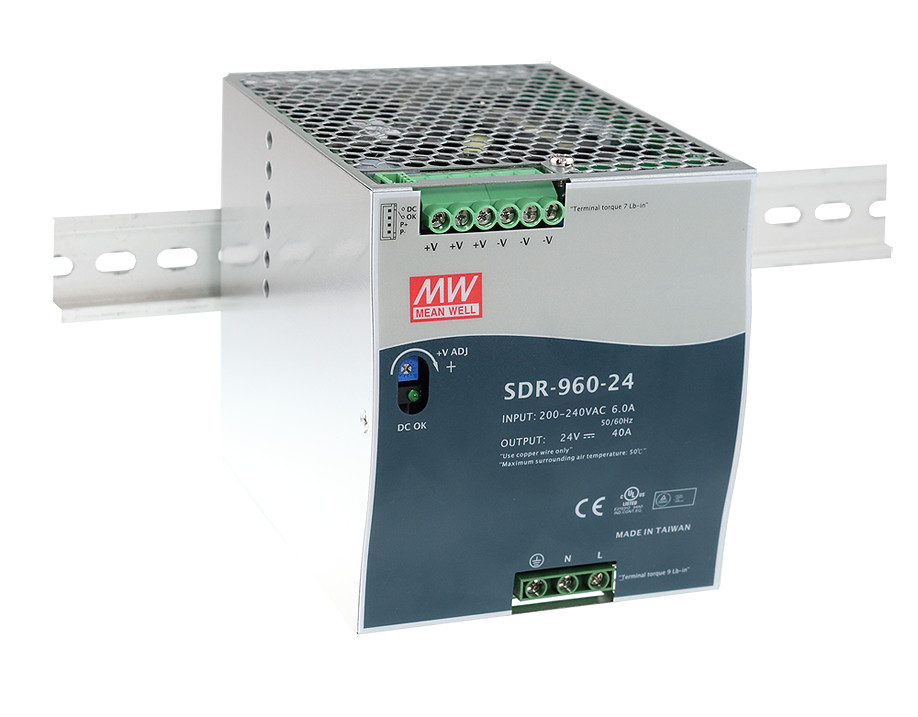 MEAN WELL original SDR-960-48 48V 20A meanwell SDR-960 48V 960W Single Output Industrial DIN RAIL with PFC Function камера панасоник sdr h21 батарейку