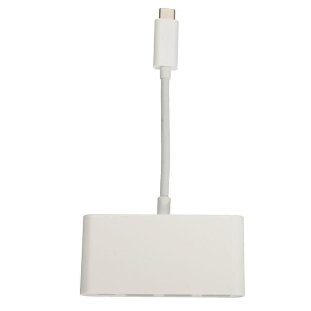 Yoc-yoobao blanco tipo c usb 3.1 gen 1 c para $ number puertos usb hub adaptador de 5 gbps para apple macbook