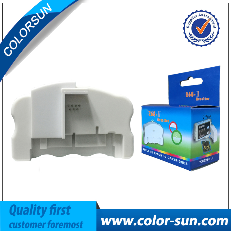 For EPSON Photo R2400 R800 R1800 2100 2200 950 910 960 R200 R220 R300 ink cartridge chip resetter 268 chip resetter t5971 700ml refill ink cartridge with chip resetter for epson stylus pro 7700 9700 7710 printer for epson t5971 t5974 t5978