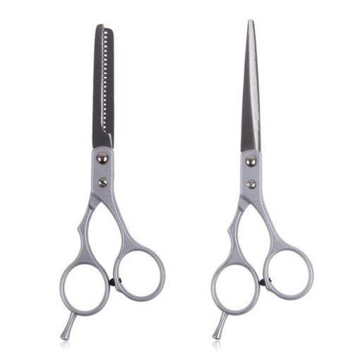 2 pc Professional Hair Cutting Thinning Scissors Shears Barber Set Hairdressing 2