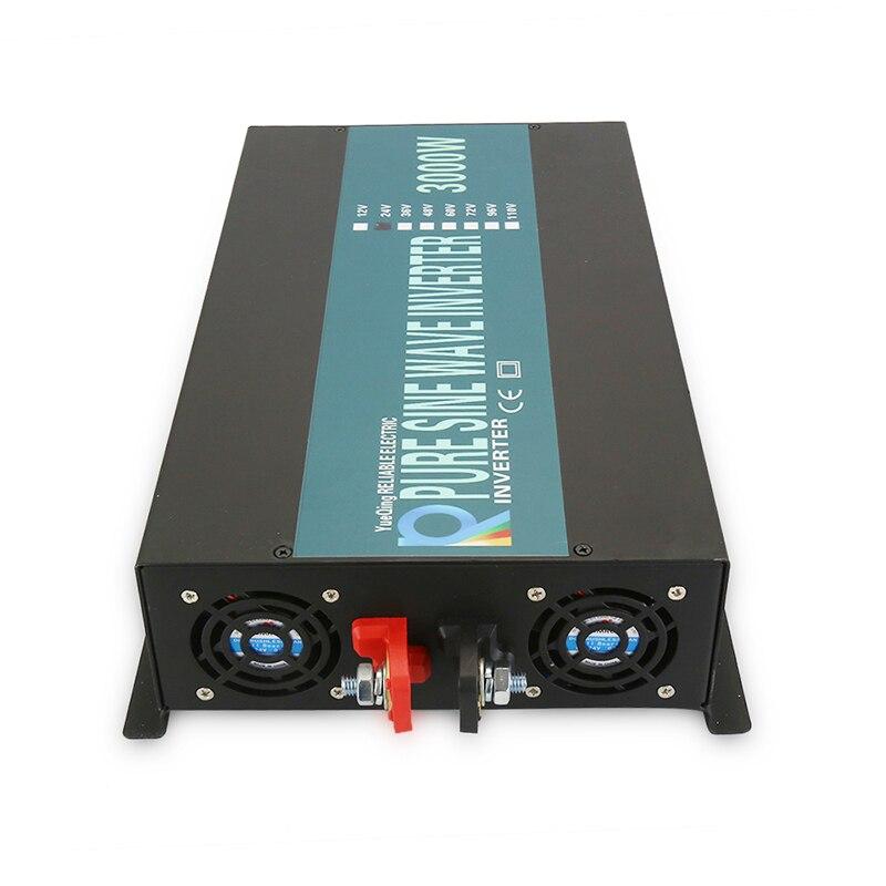 Off Grid Reine Sinus Welle Power Inverter 3000 W 12 V zu 220 V Backup Power Solar Inverter Generator 24 v/48 V DC zu 120 V/230 V/240 V AC