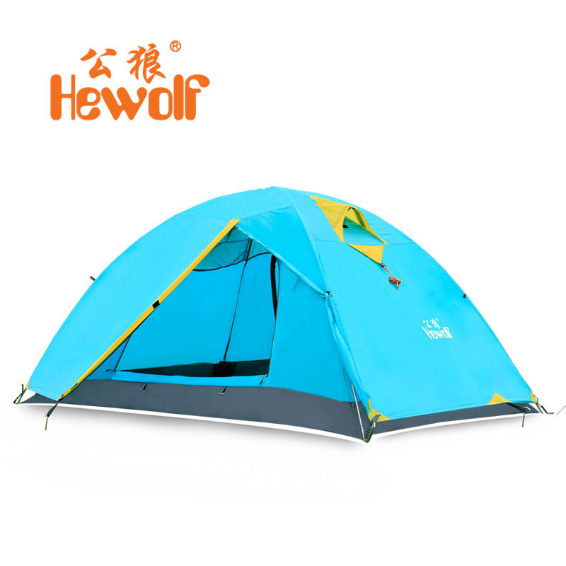 Ultralight 2 Person Camping Tent 4 Season Outdoor Waterproof Tourism Hiking Trekking Fishing Climbing Professional Camping Gear outdoor double layer 10 14 persons camping holiday arbor tent sun canopy canopy tent
