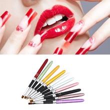 10 PCS Professional Nail Art Polish Dotting Painting Brush Pen Liner Set Nail Beauty Tool Acrylic UV Gel Drawing Random Color