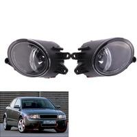 Front Bumper Driving Fog Grill Lights Lamp For Audi A4 B6 02 05 03 04 Sedan