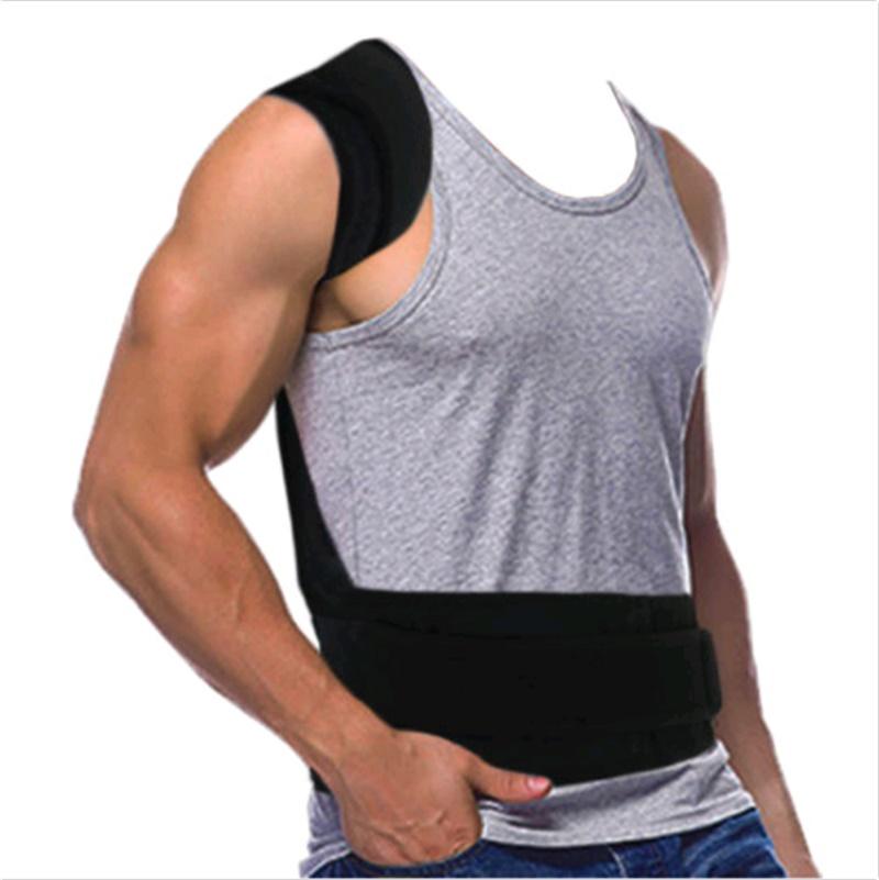 back support for women Men's Back Posture Corrector Back Braces Belts Lumbar Support Belt Strap Posture Corset for Men HEALTH CARE AFT-B003 (3)