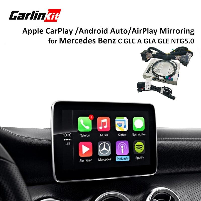 Multimédia intelligent boîte de voiture Rénovation avec Apple Carplay pour Mercedes NTG5 C Classe W205 GLC W253 2015-2017 iOS airPlay