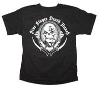 Five Finger Death Punch Get Cut Suited Skeleton Logo T Shirt Groove Metal Hard Rock Metal
