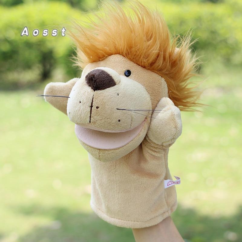 La boca del juguete relleno con un charco de guante animal de AOSST - Peluches y felpa