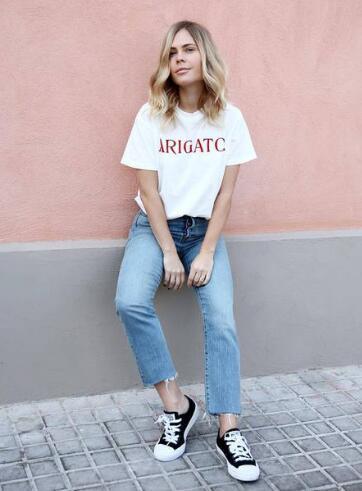 Vestiti Tumblr Estate Shirt Camicia Di Donne Modo Brecxowqde Arigatc T FKJ3Tcl1