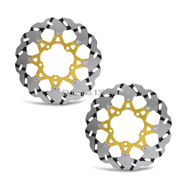 Motorcycle Front Brake Disc Rotor For Suzuki 1000cc GSX R1000 non-ABS 2005-2008