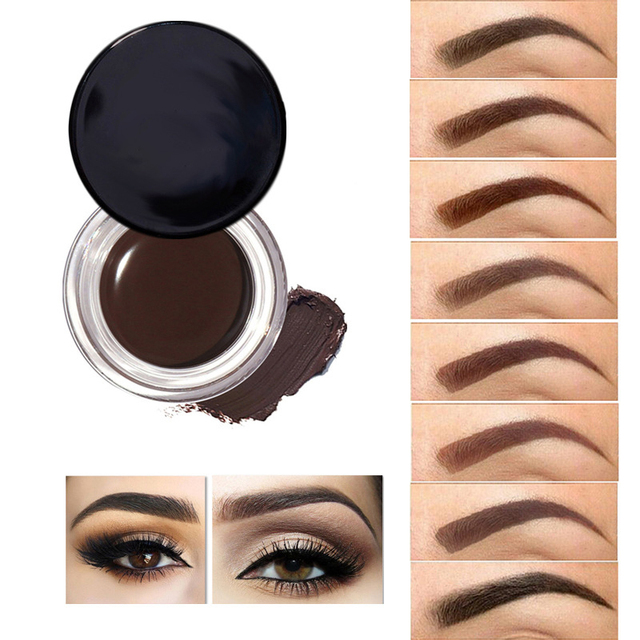 2989100fcc4 8 Colors Eyebrow Enhancers Waterproof Long-lasting Eyebrow Pomade Gel  Pigment Quick Dry Eye Brow