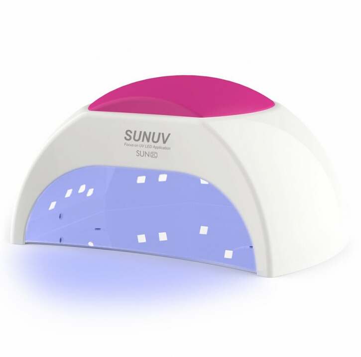 SUN2 48W 365+405nm Professional Nail Dryer Machine White Light 10S 30S 60S 90S UV Lamp UV LED Gels Nail Art Tools Protect Nail