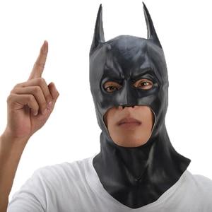 Image 3 - باتمان قناع هالوين حفلة تنكرية أقنعة تنكرية للحفلات فيلم بروس واين تأثيري ماسكارا mascaras دي اللاتكس realista carnavy قناع الإرهاب